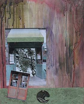 Blossom Door by Claudia Stewart