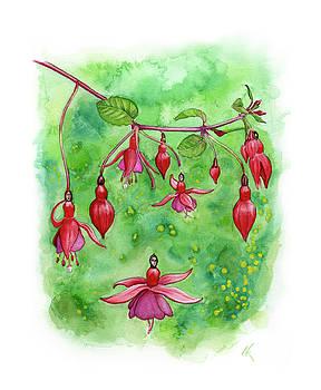 Blossom Fairies by Norman Klein