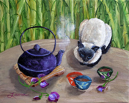 Laura Iverson - Blossoms and Bamboo
