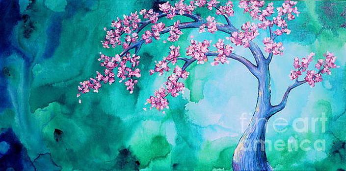 Blossoms in the Mist by Shiela Gosselin