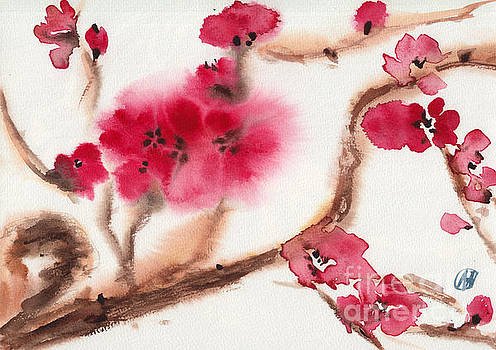 Almond Blossom - New Life by Nadja Van Ghelue