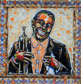Blow That Horn Satchmo by Tami Curtis