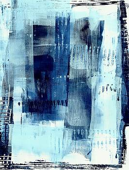 Blue Abstract I by Lisa Noneman