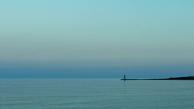Blue And Peaceful by Stelios Kleanthous