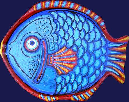 Genevieve Esson - Blue and Red Fish