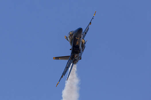 Blue Angel 7 Closeup by John Daly