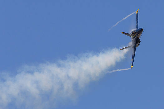Blue Angel 7 Vortices and Condensation by John Daly