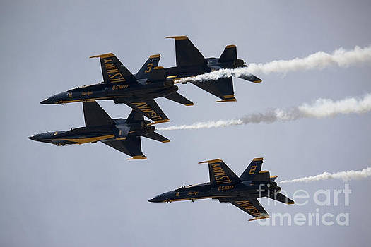 Blue Angels with Precision by Ivete Basso Photography