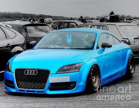 Blue Audi by Vicki Spindler