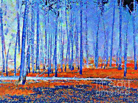 Blue Autumn by Ann Johndro-Collins