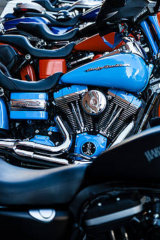 Blue Bike by Tony Reddington