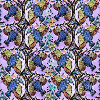 Blue Bird by Sandra Silberzweig