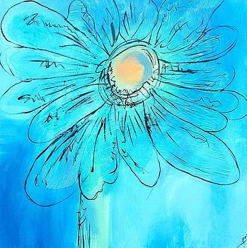 Blue Bloom II by Jane Robinson