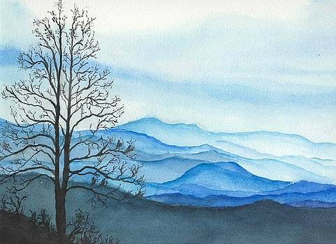 Blue Calm by Rachel Hames