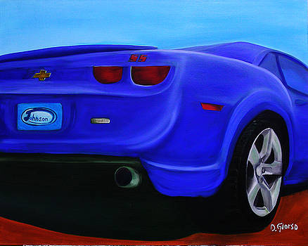 Blue Camero by Dean Glorso