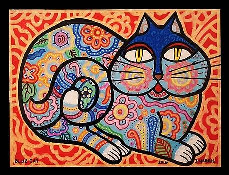 Blue Cat by Jim Harris