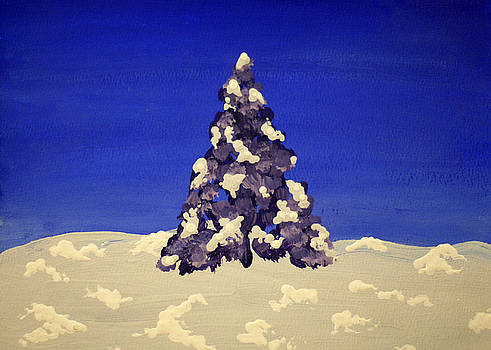 Blue Christmas by Joseph A Langley