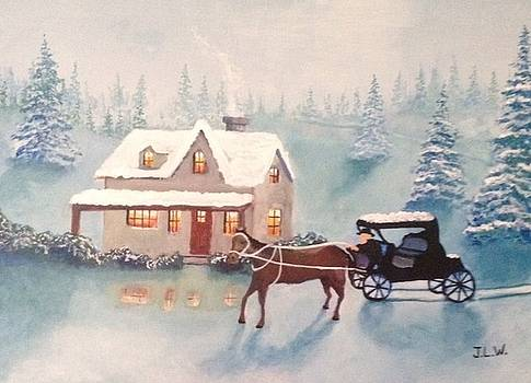 Blue Christmas by Justin Lee Williams