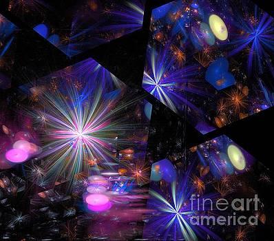 Blue Cluster Galaxies by Kim Sy Ok