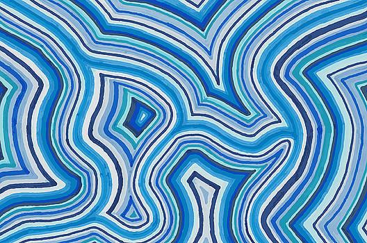 Blue Color Burst by Jill Lenzmeier