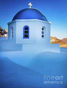 Blue Domed Chapel by Inge Johnsson