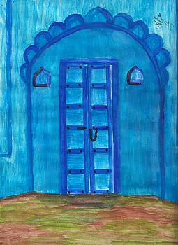 Blue Door by Bobby Dar