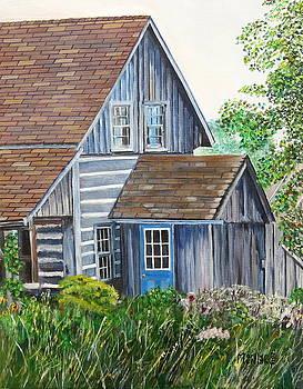 Blue Door by Marilyn  McNish