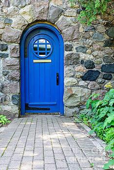 Blue Door by Patrick Shupert