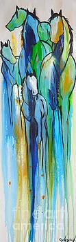 Blue Drip 2 by Cher Devereaux