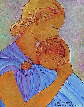 Blue embrace by Gioia Albano
