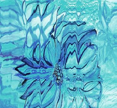 Anne-elizabeth Whiteway - Blue Fantasy Floral