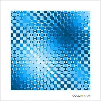 Blue Field 01 by Sam Harris