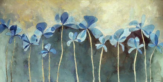 Cynthia Decker - Blue Flowers