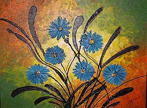 Xafira Mendonsa - Blue Flowers for True People