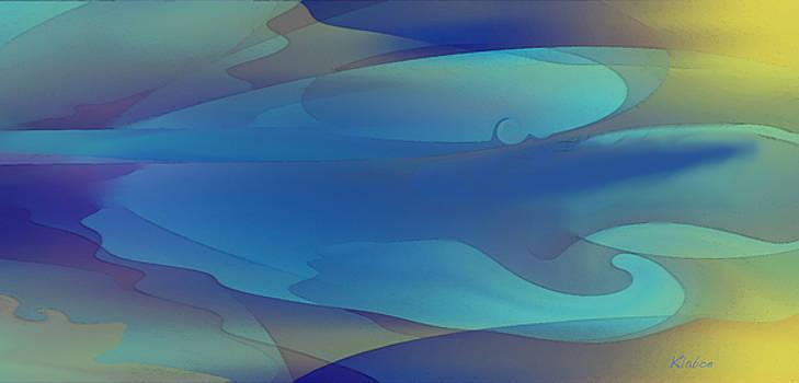 Blue Fog I by David Klaboe