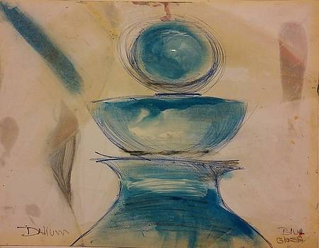 Blue Glass by Gregory Dallum