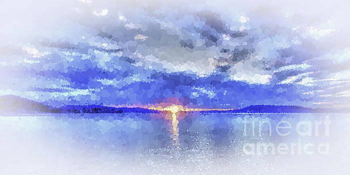 Blue Glow Sunrise by Geoff Childs