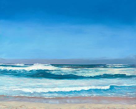 Blue Hawaii, Turtle Bay, Oahu by Elaine Farmer