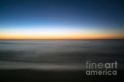 Blue Hour Sunrise at Siasconset Beach by Kimberly Nyce