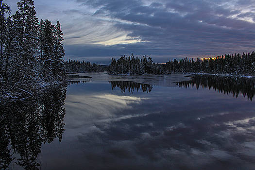 Blue Hour by Tingy Wende