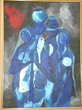 Blue Ladies by Chitra Patnaik