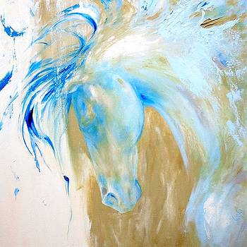 Blue Mane by Dina Dargo