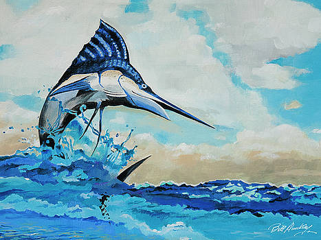 Blue Marlin by Bill Dunkley
