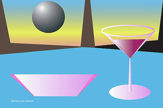 Blue Martini by Michael Chatman