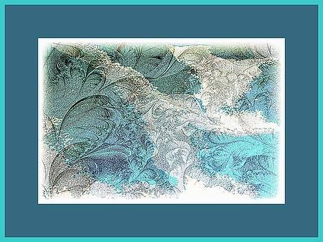 Blue Maze by Athala Carole Bruckner
