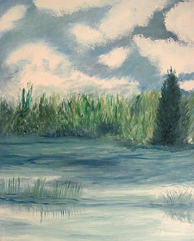 Blue Meadow by Richard Beauregard