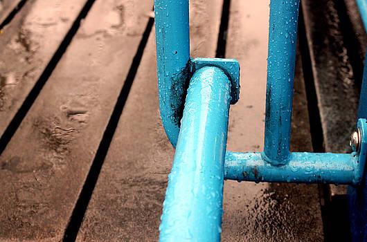 Blue Metalic by Mark Ashkenazi