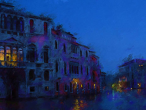 Blue Night by Don Steve