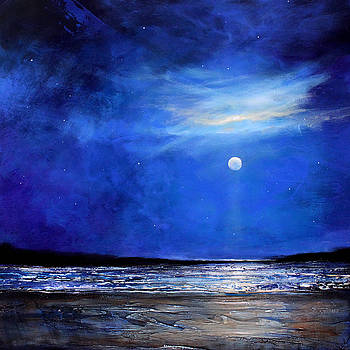 Blue Night Light by Toni Grote
