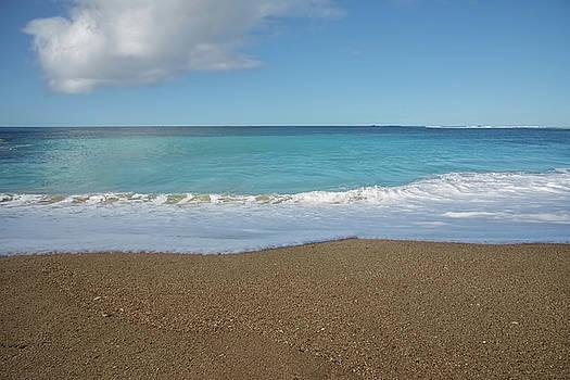 Blue Ocean Water by Steven Michael